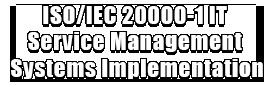 ISOIEC 20000-1 IT Service Management Systems Implementation Logo